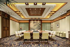 Decorated Ceiling Hall Ceiling Design Idea Including Wall To Carpet Done In