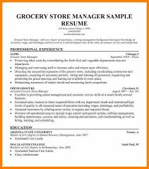 Grocery Store Manager Resume Example by 7 Grocery Store Resume Character Refence