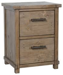 Rustic File Cabinet Quincy Reclaimed Pine 2 Drawer Filing Cabinet By Kosas Home