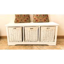 White Wicker Bathroom Storage White Rattan Storage Baskets 3 Drawer Wicker Storage Unit White