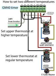 water heater thermostat wiring diagram wiring diagram for 240 volt