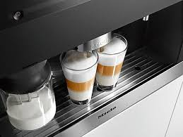 Miele Built In PureLine Plumbed Coffee System CVA6805 Brilliant
