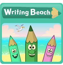 writing beach nessy uk