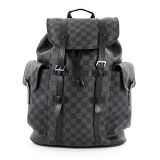 buy louis vuitton christopher backpack damier graphite pm 1375501