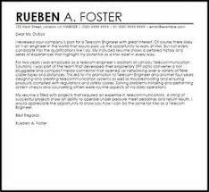 sample cover letter for telecommunication job cover letter intern
