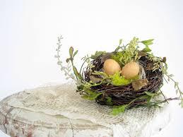 Pinterest Spring Home Decor Custom For Angie Decorative Bird Nest Wedding Nest With Eggs