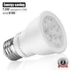 4ft Led Light Bulbs by Dimmable 7 5w Led Par16 Bulb Torchstar
