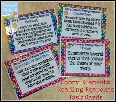 task card corner using task cards for reading response