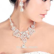 Common Nova Colares De Noiva Borboleta Flor Waterdrop Diamante Noiva  &KP18
