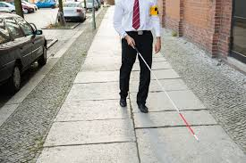 Blind People Canes Pioneering Recognition Cane For The Blind