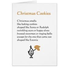 funny christmas poem cards greeting u0026 photo cards zazzle
