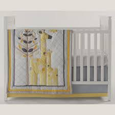 chic by jonathan adler safari giraffe 4 pc crib bedding set