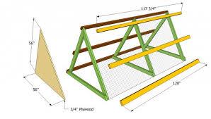 a frame chicken coop plans myoutdoorplans free woodworking