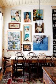 make way for eclectic home décor wall galleries vintage
