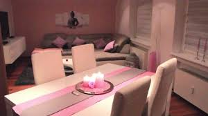 Wohnzimmer Einrichten Pink Roomtour Wohnzimmer Youtube