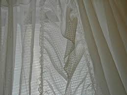 Ruffled Priscilla Curtains Dotted Swiss Curtains Curtain Design Ideas