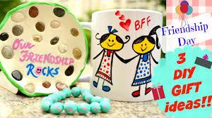 diy 3 friendship day handmade gift ideas youtube