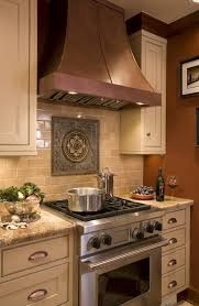kitchen stove backsplash tile medallion at stove backsplash subway tiles kitchen