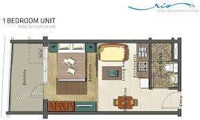 condo sale at azure urban resort residences floor plans
