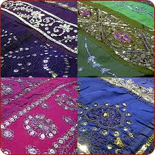 Moroccan Bed Linen - moroccan bedding these bed spreads are made of old indian saree