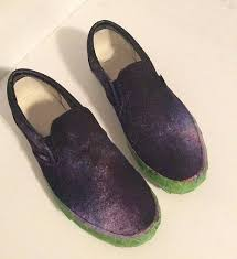 diy galaxy print shoes project by decoart