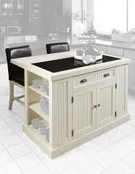home styles nantucket distressed white kitchen island with stools home styles nantucket kitchen island image permalink