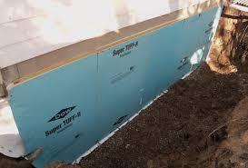 basement exterior basement waterproofing