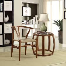 amelot wood armchair walnut froy