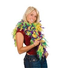mardi gras feather boas mardi gras feather boa 6 60 grams party costume feather boa ebay