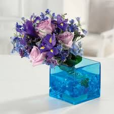 blue centerpieces blue centerpieces ideas for blue weddings
