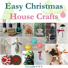 123 easy christmas house crafts favecrafts com