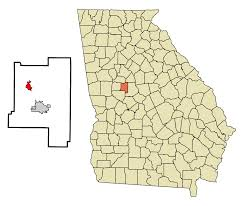 Georgia Map With Cities Milner Georgia Wikipedia