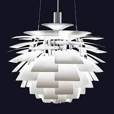 Artichoke Pendant Light Ph Artichoke White Stardust