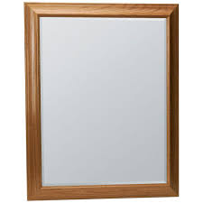 Wood Mirror Frame Glacier Bay Hampton 27 1 2 In X 33 1 2 In Framed Vanity Mirror