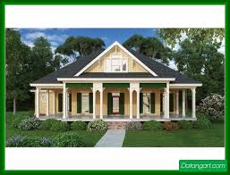house plans one story with porches