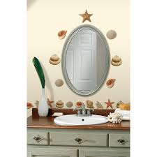 Wall Decor Stickers Walmart by Mirror Stickers Walmart Com Roommates Sea Shells Peel And Stick
