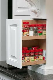 Kitchen Cabinets Spice Rack Pull Out 77 Best Cabinet Accessories Images On Pinterest Mullets Kitchen