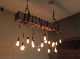 Chandeliers Lighting Fixtures Buy A Custom Reclaimed Barn Beam Chandelier Light Fixture Modern