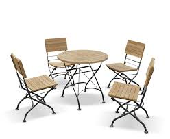 round bistro table outdoor bistro table and chairs garden round 4 patio outdoor dining set