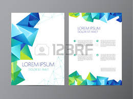 abstract vector modern flyer brochure design templates with