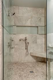 daltile arctic gray hones tile 9x18 shower wall basketweave