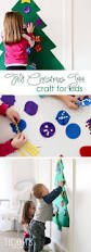 felt christmas tree craft for kids tree crafts kiwi crate and