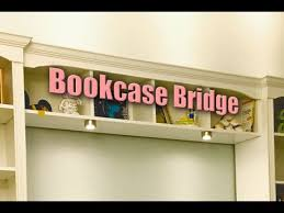Billy Bookcase Hack Built In How To Build A Bookcase Bridge Ikea Billy Hack Youtube