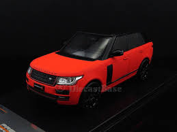 red land rover premium x prd405 1 43 land rover range rover 2013 red matt with black