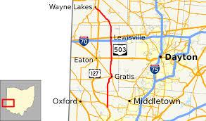 Map Of Dayton Ohio Ohio State Route 503 Wikipedia
