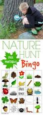 nature hunt bingo nature hunt fun outdoor games and outdoor games