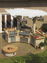 cabinet outdoor barbecue kitchen designs optimizing an outdoor
