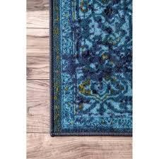 Abc Oriental Rugs Nuloom Traditional Vintage Inspired Overdyed Oriental Rug 5 U0027 X 8