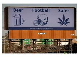 Legalize Weed Meme - weed is safer than football billboard legalize marijuana signs
