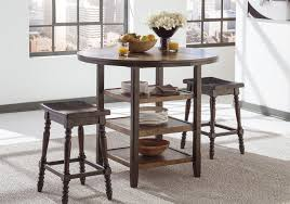 moriann round counter height table lexington overstock warehouse